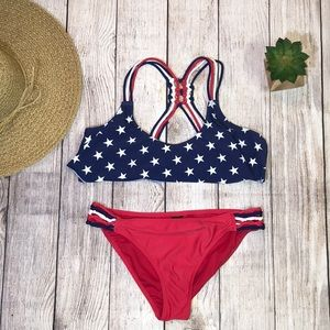 Swim - 3/$23-Endless Summer Patriotic 2 pc. Suit